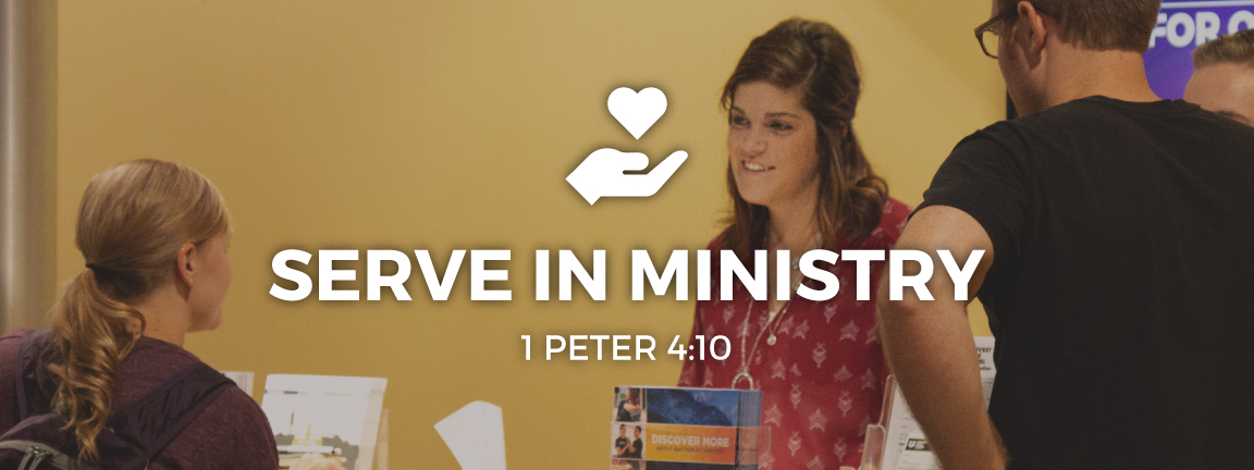 Serve in Ministry